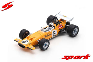 S7140 - MCLAREN M14A #6 2ND SOUTH AFRICAN GP 1970 DENIS HULME