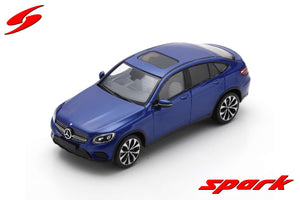S8181 - MERCEDES BENZ GLC COUPE 2016 METALLIC BLUE