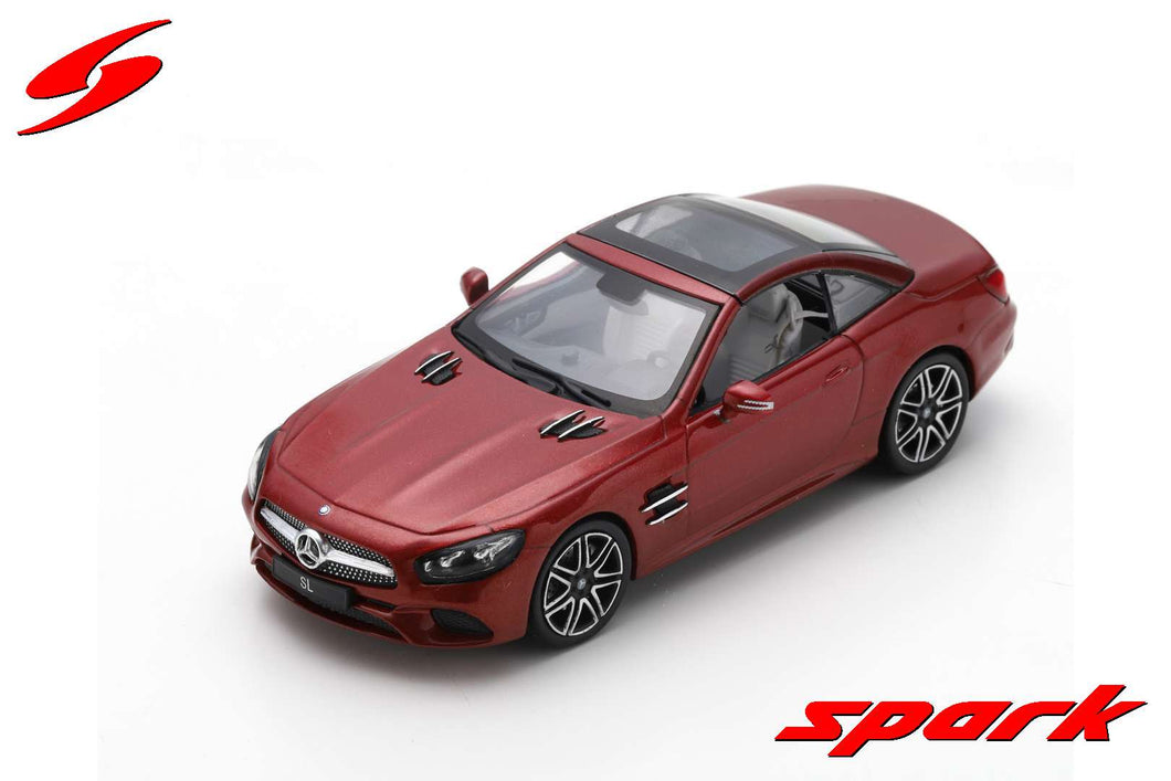 S8183 - MERCEDES BENZ SL 2017 RED