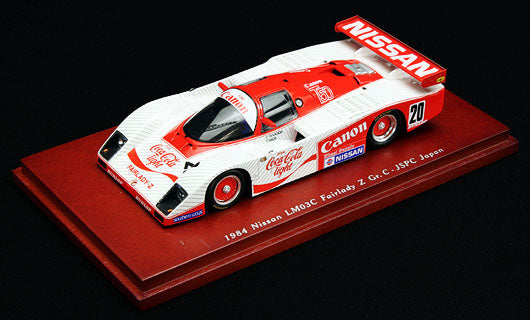 TSM104317 - 1984 NISSAN FAIRLADY Z LM03C GR.C JSPC JAPAN COKE LIGHT