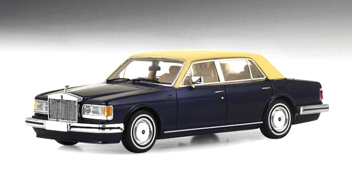 TSM124371 - 1991 ROLLS ROYCE SILVER SPUR II BLUE WITH BEIGE ROOF