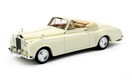 TSM134352 - 1959 ROLLS ROYCE SILVER CLOUD I TWO SEATER DROPHEAD JAMES YOUNG WHITE