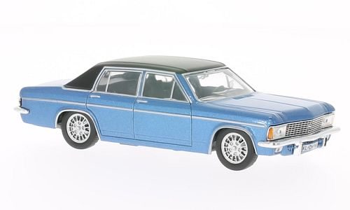 WB067 - 1969 OPEL ADMIRAL B BLUE WITH BLACK ROOF