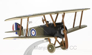 SOPWITH CAMEL F.1 B6313 MAJOR WILLIAM GEORGE 'BILLY' BARKER C/O RAF NO.139 SQUADRON ITALY SEPTEMBER 1918