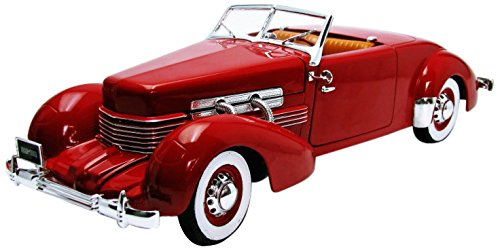 AMM1014 - 1937 CORD 812 CONVERTIBLE RED