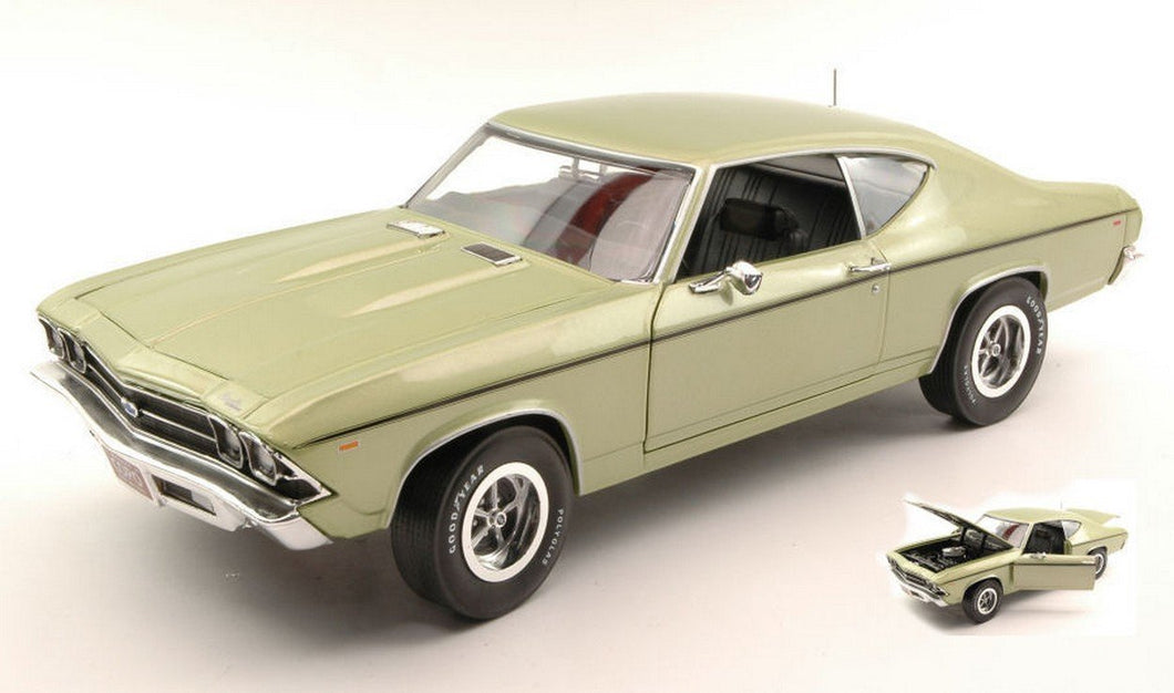 AMM1054 - 1969 CHEVY CHEVELLE COPO 427 GREEN LTD ED. OF 1002