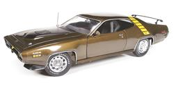 AMM1063 - 1971 PLYMOUTH ROAD RUNNER HARDTOP BROWN LTD ED. OF 1002