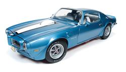 AMM1076 - 1972 PONTIAC FIREBIRD TRANS AM METALLIC LIGHT BLUE