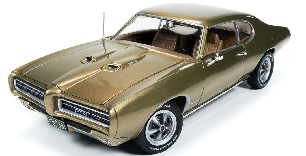 AMM1081 - 1969 PONTIAC GTO HARDTOP (HEMMINGS) CHAMPAGNE LTD ED. OF 1002