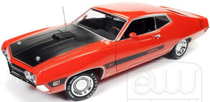 AMM1112 - 1970 FORD TORINO COBRA TWISTER SPECIAL ORANGE WITH BLACK BONNET