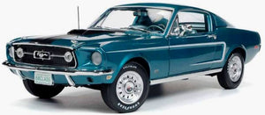 AMM1132 - 1968 MUSTANG 2+2 TURQUOISE