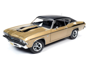 AMM1206 - 1969 YENKO CHEVROLET CHEVELLE GOLD/BLACK TOP