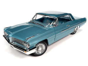 AMM1212 - 1962 PONTIAC ROYAL BOBCAT CATALINA BLUE (TEST CAR)