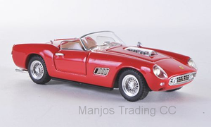 ART115 - FERRARI 250 CALIFORNIA 'PROVA' 1960 RED