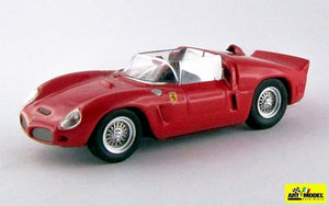 ART259 - FERRARI DINO 246 SP SPIDER PROVA 1961 RED
