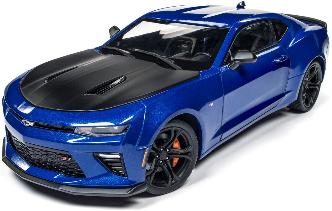 AW241 - 2017 CHEVROLET CAMARO SS 1 LE BLUE WITH BLACK BONNET