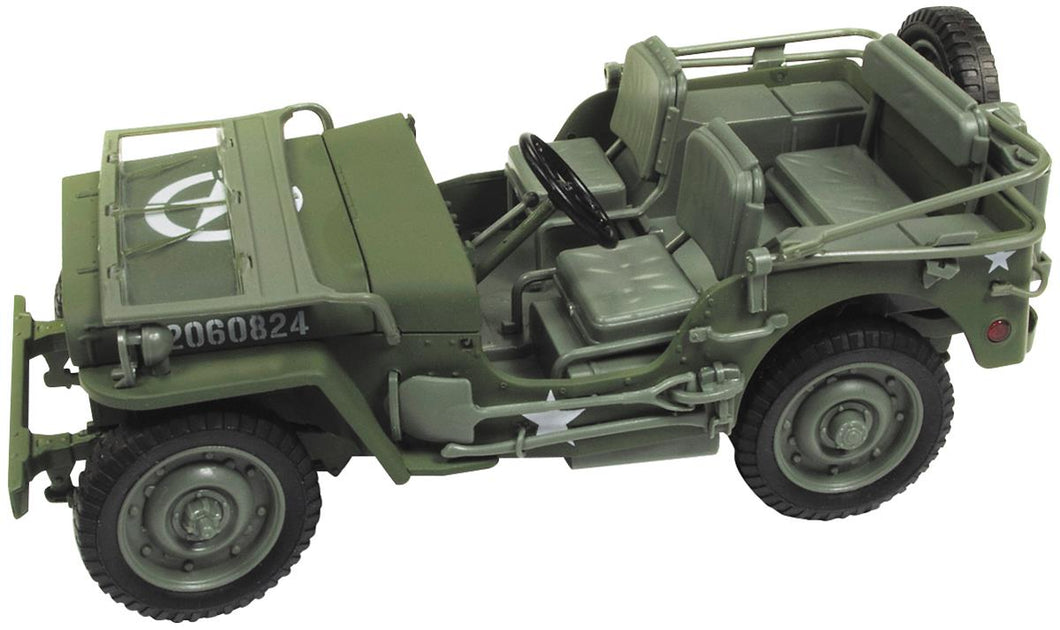 AWML001 - 1941 WILLYS JEEP OLIVE (US ARMY)