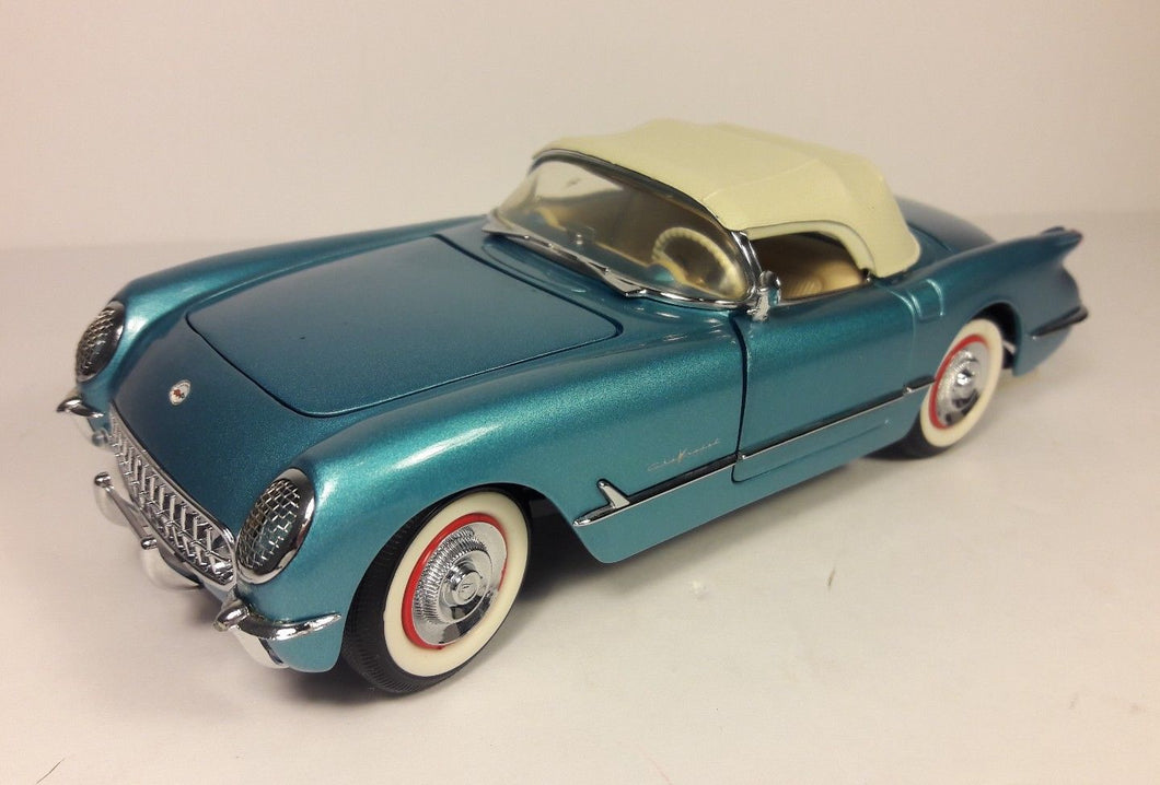 B11TC54 -1955 CORVETTE ROADSTER BLUE