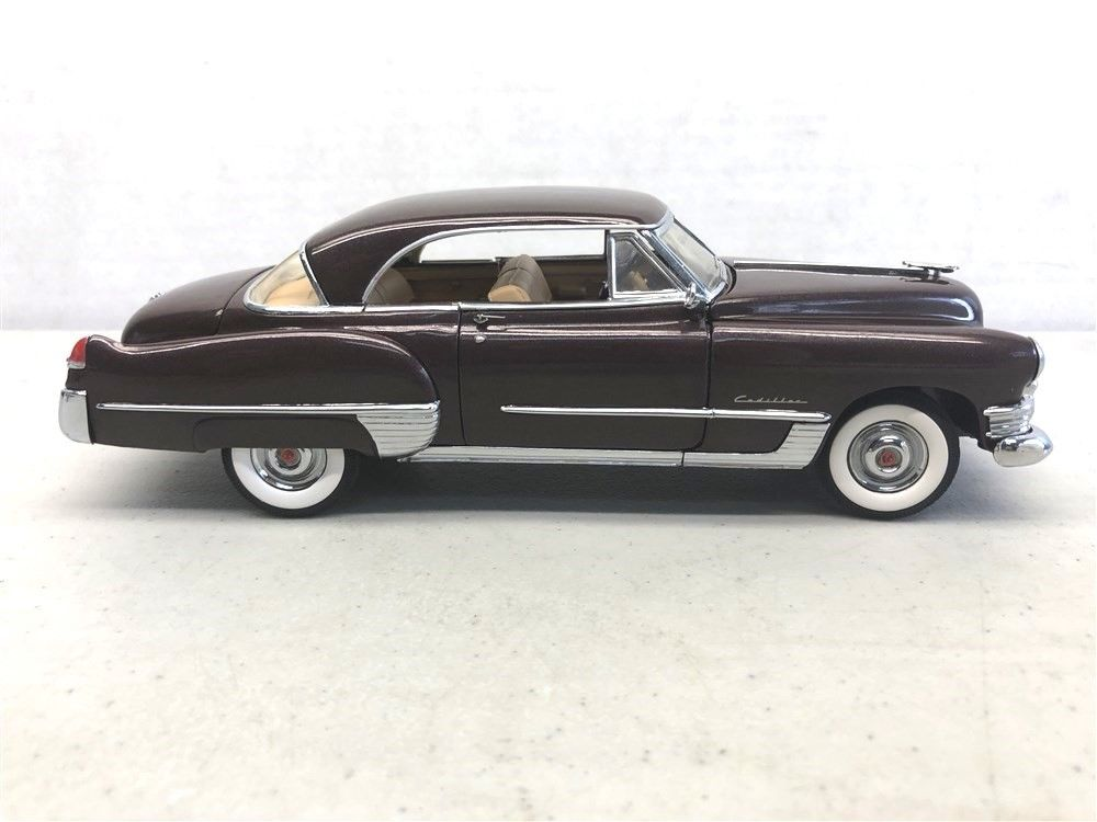 B11XX43 -1949 CADILLAC COUPE DEVILLE CHOCOLATE BROWN