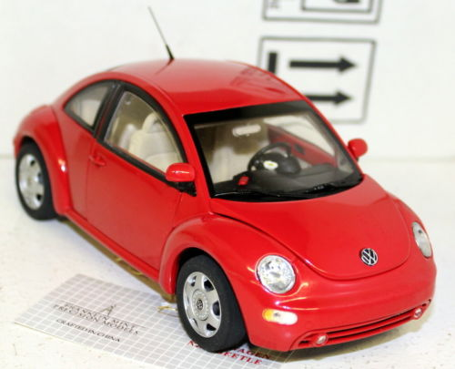 1998 VOLKSWAGEN BEETLE RED