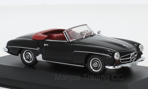 B66041053 - MERCEDES 190 SL (W121) 1955 BLACK