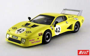 BST9336 - FERRARI BB LM 2 SERIES SILVERSTONE 1981 BOND-BELL-GRISWORLD YELLOW