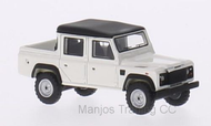 BOS87096 - LAND ROVER DEFENDER 110 DOUBLE CAB PICK UP  WHITE