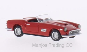 BOS87100 - FERRARI 250 GT LWB CALIFORNIA SPYDER RED