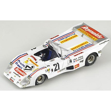 BZ159 - LOLA T286 #21 LM 1976 X.LAEYRE B.CHEVANNESS WHITE