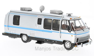 CAC003 - AIRSTREAM EXCELLA 250 TURBO SILVER LIGHT BLUE STRIPES