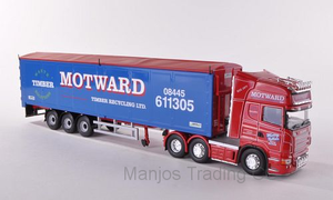 CC13752 - SCANIA R MOVING FLOOR TRAILER MOTWARD TIMBER RECYCLING LTD HUNTINGDON