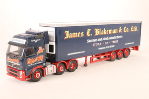 CC14027 - VOLVO FH FACE LIFT FRIDGE TRAILER - JAMES T BLAKEMAN & CO. LTD , STOKE - ON - TRENT