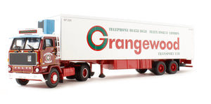 CC15602 - VOLVO F89 FRIDGE TRAILER GRANGEWOOD TRANSPORT LTD LONDON