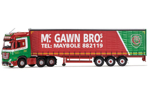 CC15812 - MERCEDES BENZ ACTROS (MP4) CURTAINSIDE TRAILER MCGAWN TRANSPORT