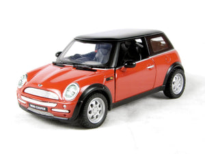 THE NEW MINI COOPER - ORANGE