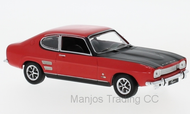 CLC258 - FORD CAPRI MK1 RED WITH BLACK BONNET