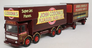 COR21701 - AEC CLOSED OLE TRUCK & POLE TRAILER SET