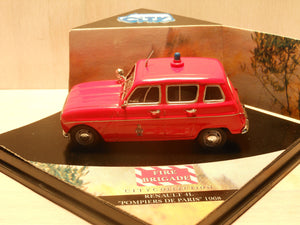 CS007 - RENAULT 4L FIRE BRIGADE PARIS 68