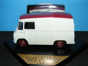 CV009 C- ,MORRIS LD 150 VAN DARK RED/CREAM