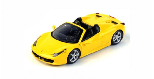 FJM124321 - FERRARI 458 SPIDER 2012 YELLOW