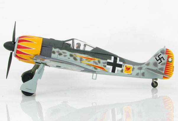 HA7419 - FW190A-4 W NR.634 FLOWN BY MAJOR HERMANN GRAF, JG 2, FRANCE 1943