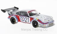 LMC158B - PORSCHE 911 CARRERA RS 2.1 TURBO #21 MARTINI RACING TEAM MARTINI 24H LE MANS M.SCHURTI-H.KOINIGG