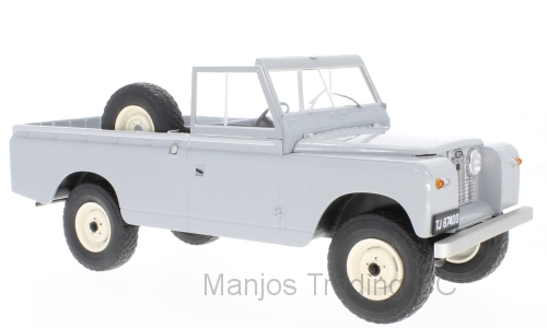MCG18092 - LAND ROVER 109 PICK UP SERIES 11 GREY/BACK