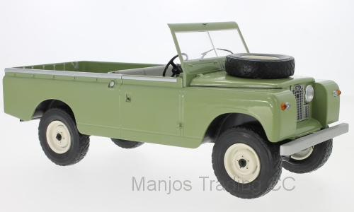 MCG18093 - LAND ROVER 109 PICK UP OPEN BACK GREEN
