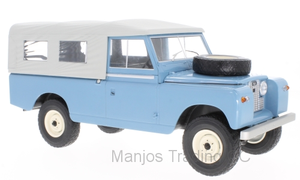 MCG18094 - LAND ROVER 109 PICK UP SERIES 11 WITH CANOPY BLUE