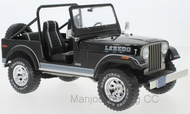 MCG18108 - JEEP CJ-7 LAREDO BLACK 1980