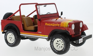 MCG18110 - JEEP CJ-7 RENEGADE RED