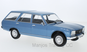 MCG18213 - PEUGEOT 504 BREAK BLUE