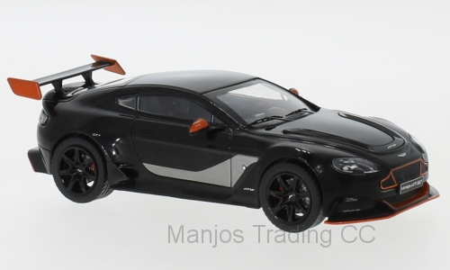 MOC301 - ASTON MARTIN VANTAGE GT12 BLACK/ORANGE