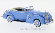 MUS075 - PACKARD VICTORIA CONVERTIBLE BLUE